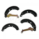 1ABPS00402-1999-01 Nissan Altima Brake Shoes Rear  Nakamoto S756