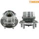 TKSHS00505-2004-09 Toyota Prius Wheel Bearing & Hub Assembly Front Pair  Timken HA590064