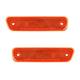 1ALPP00506-1999-04 Chevy Tracker Side Marker Light Front Pair