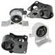 1AEEK00150-2002-06 Nissan Altima Engine & Transmission Mount Kit