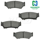 1ABPS00287-Brake Pads Front  Nakamoto MD556