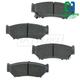 1ABPS00286-Brake Pads CERAMIC Front