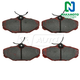 1ABPS00289-Brake Pads Rear