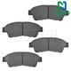 1ABPS00288-Brake Pads Front Nakamoto CD562