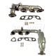 1AEEK00163-Mercury Villager Nissan Quest Exhaust Manifold & Gasket Kit Pair