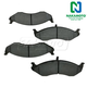 1ABPS00298-Jeep Cherokee Wrangler Brake Pads Front Nakamoto MD712