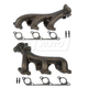 1AEEK00164-Exhaust Manifold & Gasket Kit Pair