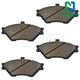 1ABPS00295-Brake Pads Front