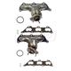 1AEEK00165-Cadillac CTS Exhaust Manifold & Gasket Kit Pair