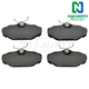 1ABPS00290-Brake Pads Rear Nakamoto MD610