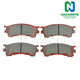 1ABPS00259-Brake Pads CERAMIC Front