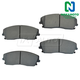 1ABPS00266-Brake Pads Front  Nakamoto MD1056
