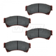 1ABPS00278-Brake Pads Front Nakamoto MD1164