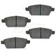 1ABPS00275-Brake Pads Rear  Nakamoto CD1161