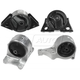 1AEEK00129-1993-97 Nissan Altima Engine & Transmission Mount Kit
