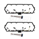 1AEEK00124-Ford Valve Cover Gasket with Injector & Glow Plug Harness Set of Two