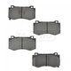 1ABPS00378-Brake Pads Front