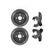 1ABDS00049-Brake Shoe & Drum Kit Rear