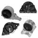 1AEEK00142-1998-01 Nissan Altima Engine & Transmission Mount Kit