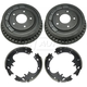 1ABDS00027-Brake Drum & Shoe Kit