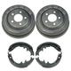 1ABDS00033-Brake Drum & Shoe Set