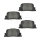 1ABPS00338-Brake Pads Rear