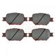 1ABPS00337-Scion tC Toyota Celica Brake Pads  Nakamoto CD817