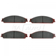 1ABPS00333-Brake Pads Front Nakamoto CD1070