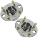 1ASHS00208-Wheel Bearing & Hub Assembly Pair Rear