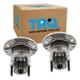 1ASHS00201-Saab 9-3 900 Wheel Bearing & Hub Assembly Pair Rear
