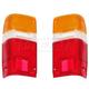 1ALTP00017-Toyota 4Runner Pickup Tail Light Lens Pair