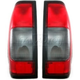 1ALTP00018-2000-04 Nissan Frontier Tail Light Pair