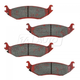 1ABPS00311-Dodge Brake Pads Rear Nakamoto MD898