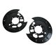 1ABMX00063-Brake Backing Plate Rear Pair
