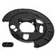 1ABMX00065-Brake Backing Plate Rear