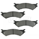 1ABPS00304-1999-07 Ford E250 Van E350 Van Brake Pads Rear  Nakamoto MD802