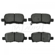 1ABPS00307-Brake Pads SEMI-METALLIC Rear
