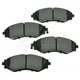 1ABPS00302-Brake Pads Front