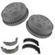1ABDS00071-Brake Shoe & Drum Kit Rear