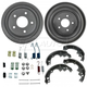 1ABDS00078-Brake Shoe  Drum & Hardware Kit Rear