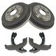 1ABDS00015-Brake Drum & Shoe Kit