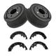 1ABDS00013-Jeep Brake Drum & Shoe Kit