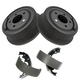 1ABDS00012-Jeep Brake Drum & Shoe Set