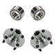 1ASHS00286-Wheel Bearing & Hub Kit Pair Front