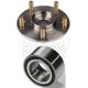1ASHS00297-Acura CSX Wheel Bearing & Hub Kit Front