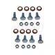 1ADRK00069-Door Hinge Pin & Bushing Kit (8 Pins  8 Bushings  & 8 Lock Nuts) Front