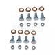 1ADRK00068-Chevy Lumina Monte Carlo Door Hinge Pin & Bushing Kit (8 Pins  8 Bushings  & 8 Lock Nuts)