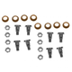 1ADRK00056-Door Hinge Pin & Bushing Kit (8 Pins  8 Bushings  & 8 Lock Nuts) Pair