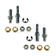 1ADRK00052-Door Hinge Pin & Bushing Kit (4 Pins  4 Bushings  4 Lock Nuts  & 2 Clips) Rear Pair