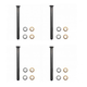 1ADRK00047-Door Hinge Pin & Bushing Kit